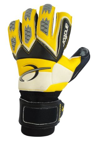 Luvas de Goleiro Arcitor Guapo Negative Finger Protection (Amarelo Preto) SCF Elite