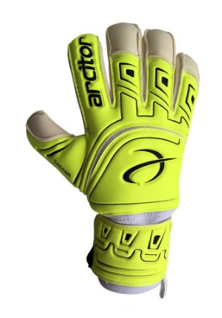Luvas de Goleiro Arcitor Skeena Rollfinger Finger Protection (Verde Limão) XW Elite