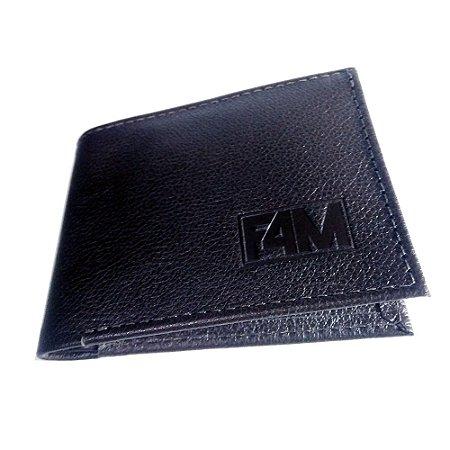 Carteira masculina porta notas Preto - Fuel4Men