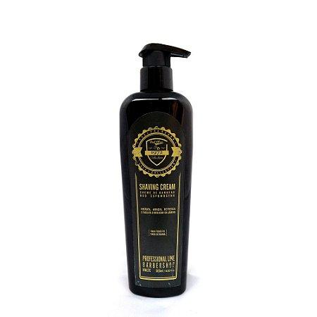 Creme de barbear - Shaving Barber Shop Profissional Fuel4Men 500ml