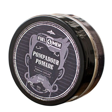 Pomada Modeladora para cabelo extra forte Pompadour Fuel4Men 100g