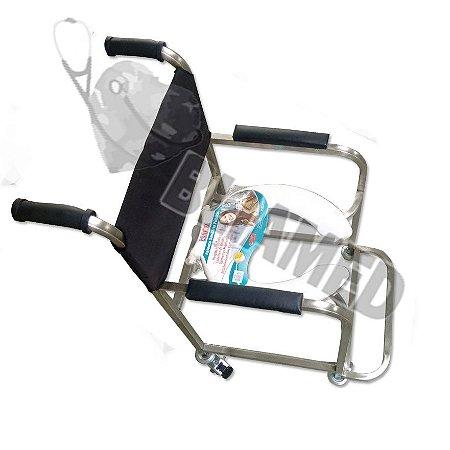 Cadeira de Banho Aço Inox Modelo Bliamed/ Venda e Valor  Exclusivo do site BLIAMED