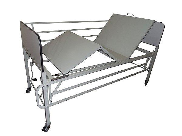 Cama Hospitalar 02 Movimentos Manual Modelo BLIAMED