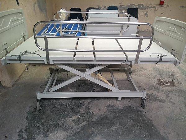 Cama Hospitalar 03 Movimentos Eletrônica SEMI NOVA