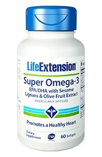 Super Omega 3 - Life Extension - 60 Softgels