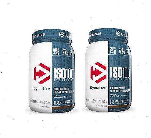 ISO 100 Dymatize 1.6 lbs - 2 Unidades - R$ 179,00 cada - FRETE GRATIS