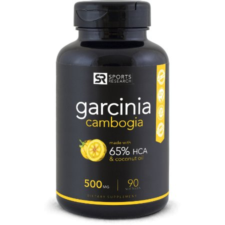 Garcinia Cambogia 65% HCA 500mg - 90 Softgels - Sports Research