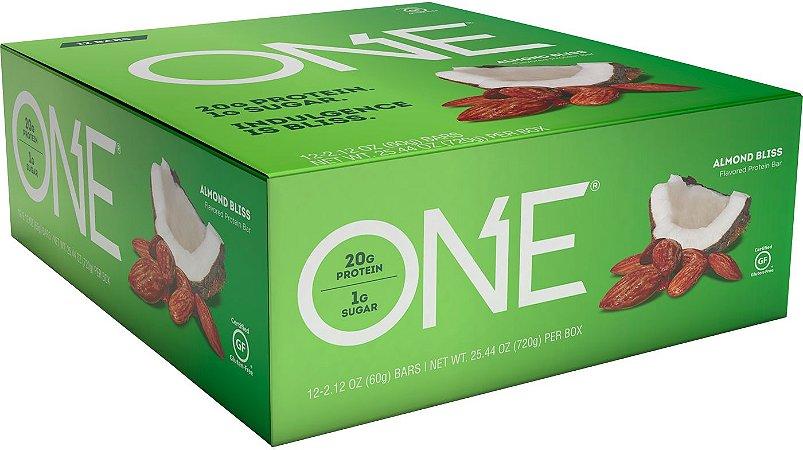 ONE Bar - Barrinhas de Proteína - Caixa c/ 12 Unidades - FRETE GRATIS