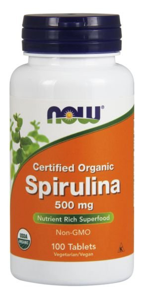 Spirulina 500mg NOW - 200 tablets