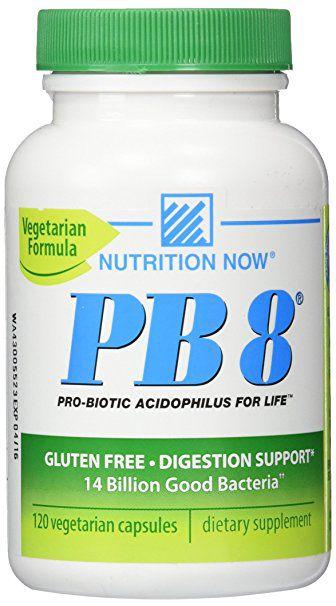 PB8 Nutrition Now - 120 vegetarian caps (Formula Vegetariana)