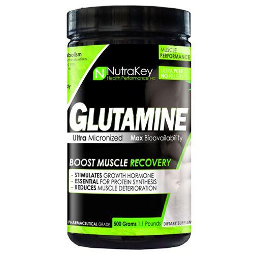Glutamina Nutrakey 500g