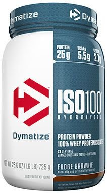 ISO 100 Dymatize Nutrition 726g - FRETE GRATIS