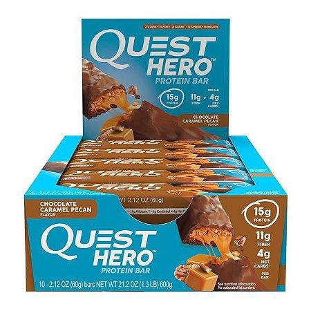 QUEST HERO - Barrinha de Proteína - Caixa