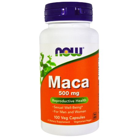 Maca 500mg NOW - 100 Veg Capsules