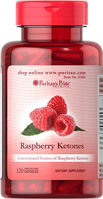 Raspberry Ketones 100 mg Puritan's Pride - 120 caps
