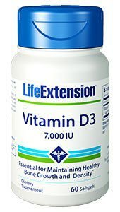 Vitamina D 7000 ui Life Extension- 60 softgels