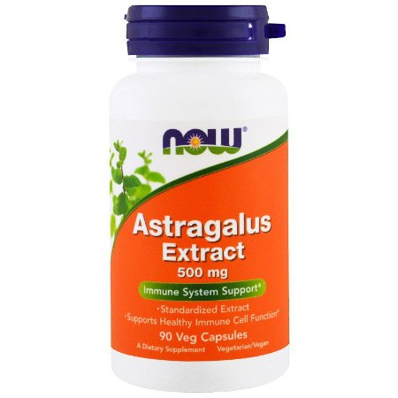 Astragalus Extract NOW 500 mg  90 Vegcaps