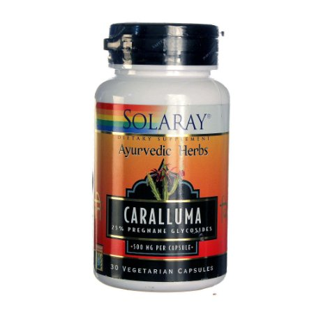 Caralluma 500 mg Solaray  30 Veg Caps