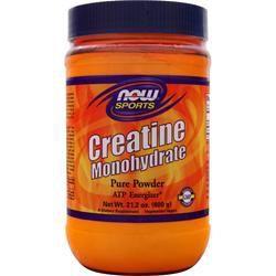 Creatina Monohydrate - 100% Pure Powder 600 grams NOW