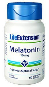 Melatonina 10mg Life Extension 60 Veg Caps