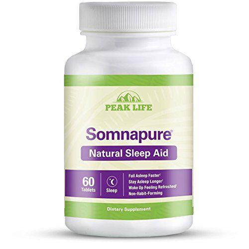 Somnapure Natural Sleep AID 60 tablets