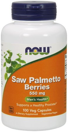 Saw Palmetto Berries 550 mg Veg 100 Capsules NOW