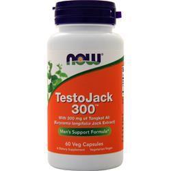 TestoJack 300 NOW - 60 Veg Capsules
