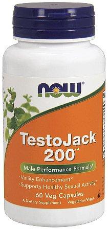 TestoJack 200 NOW - 60 Veg Capsules