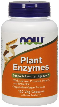 Plant Enzymes NOW 120 Veg Caps
