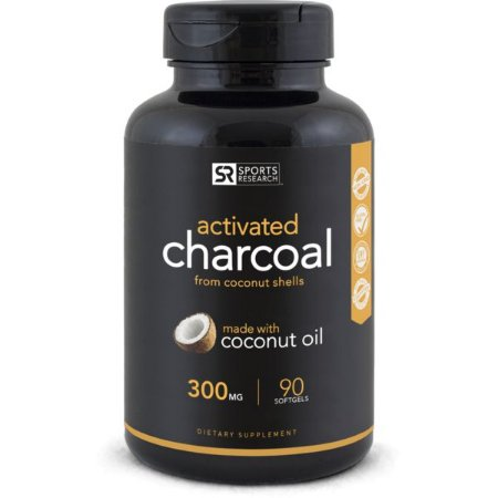 Activated Charcoal Sports Research 90 Softgels