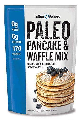 Paleo Pancake & Waffle Mix (Low Carb & Gluten Free) Julian Bakery