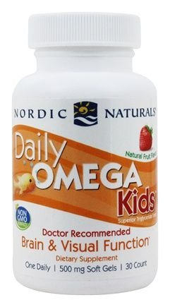 Daily Omega Kids Nordic Natural 30 Softgels