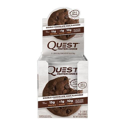 Quest Protein COOKIES - 2 Caixas com 12 Unidades Cada - R$ 159,00 por Caixa - Frete Gratis