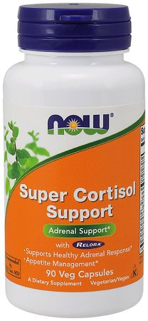 Super Cortisol Support with Relora NOW 90 Veg Capsules