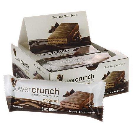 Power Crunch Bar - 3 Caixas com 12 unidades Cada - R$ 139,00 Cada - FRETE GRATIS