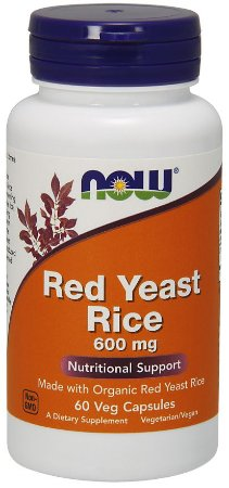 Red Yeast Rice 600mg NOW 60 vcaps