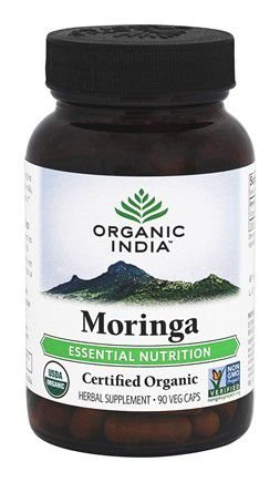 Moringa Nutrição Essencial - 90 Cápsulas vegetarianas de Organic India