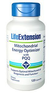 Mitochondrial Energy Optimizer with PQQ  LIFE EXTENSION  120 cápsulas