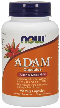 ADAM Men's Multiple Vitamin Veg 90  Capsules