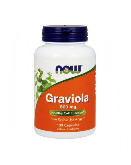Graviola NOW 100 Veg Capsules