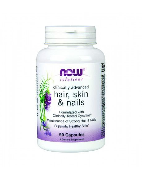 Hair, Skin & Nails   NOW 90 Capsules