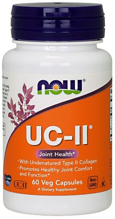 UC-II Type II Collagen NOW 60 veg Capsules
