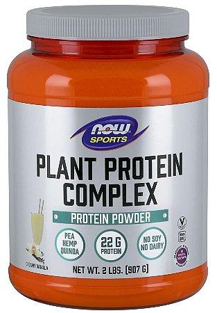 Plant Protein Complex NOW 907g - FRETE GRÁTIS (Proteína Vegana)