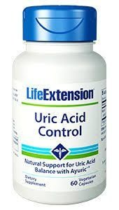 Uric Acid Control Life Extension 60 Veg Capsulas