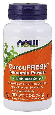 CurcuFRESH Curcumin Powder 57g NOW