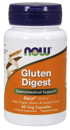 Gluten Digest NOW 60 Veg  Capsules