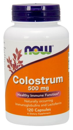 Colostrum 500 mg NOW 120 Veg Capsules
