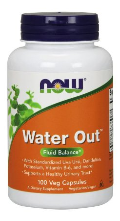 Water Out NOW 100 Veg Capsules