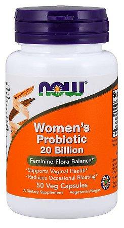 Women's Probiotic 20 Billion  NOW 50 Veg Capsules