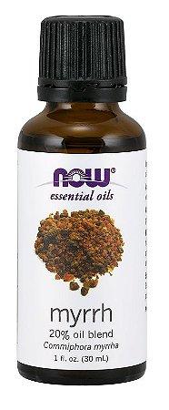 Óleo Essencial de Mirra 20% Oil Blend  NOW 30 Ml